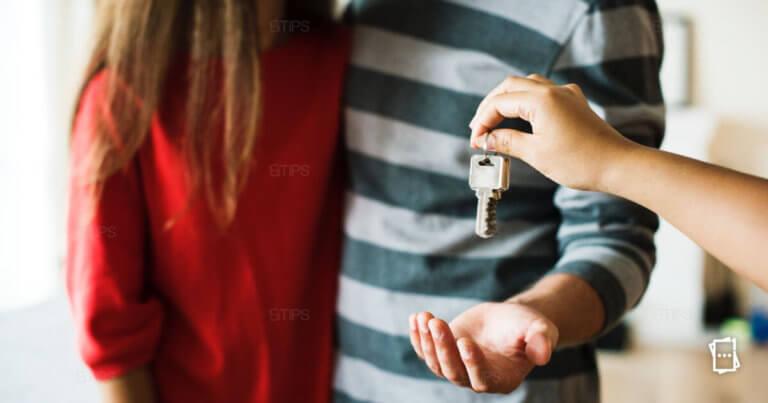 consegna chiavi di casa