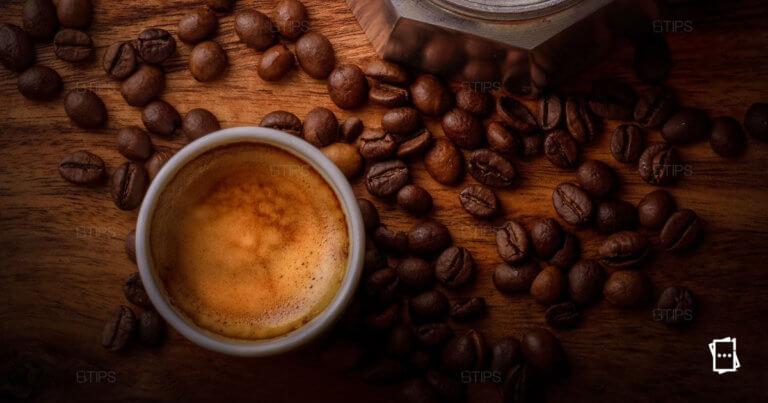 grani di caffe