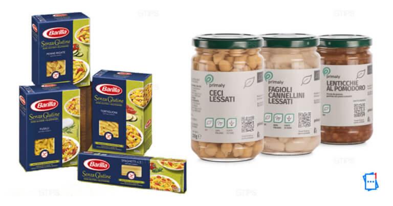 Con solo 2 pacchi di pasta senza glutine, hai in regalo una confezione di legumi