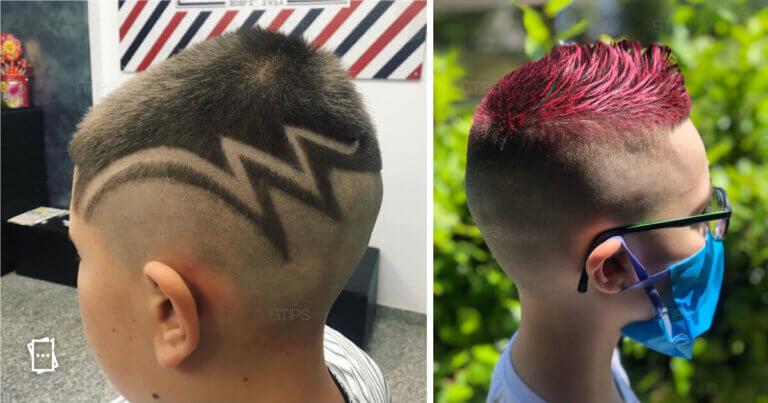 taglio capelli del tuo bimbo